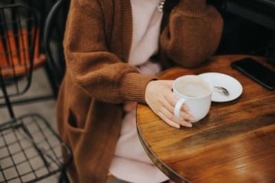 coffee shop meeting mug