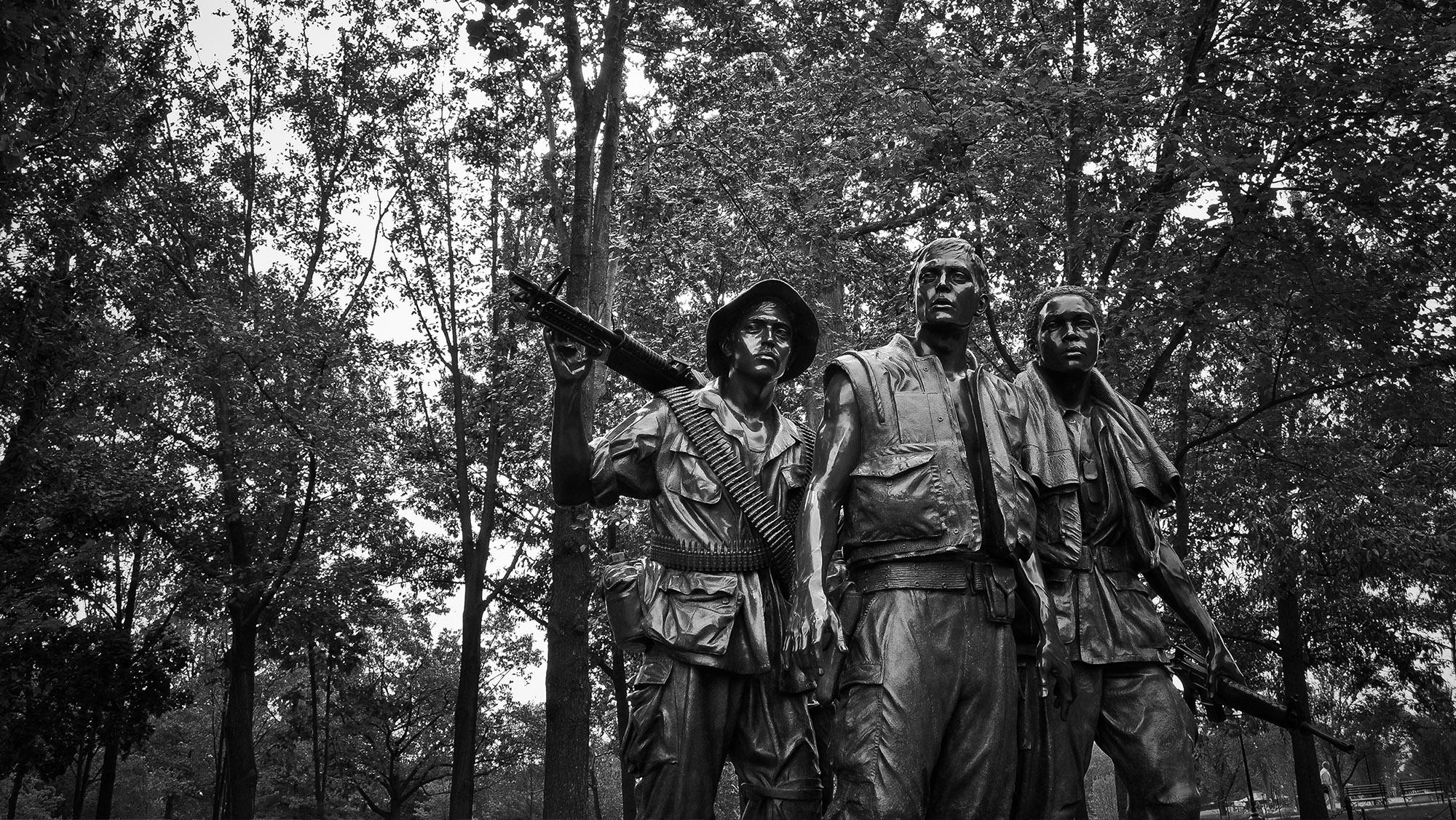 Three Soldiers Statue, Washington, D.C.