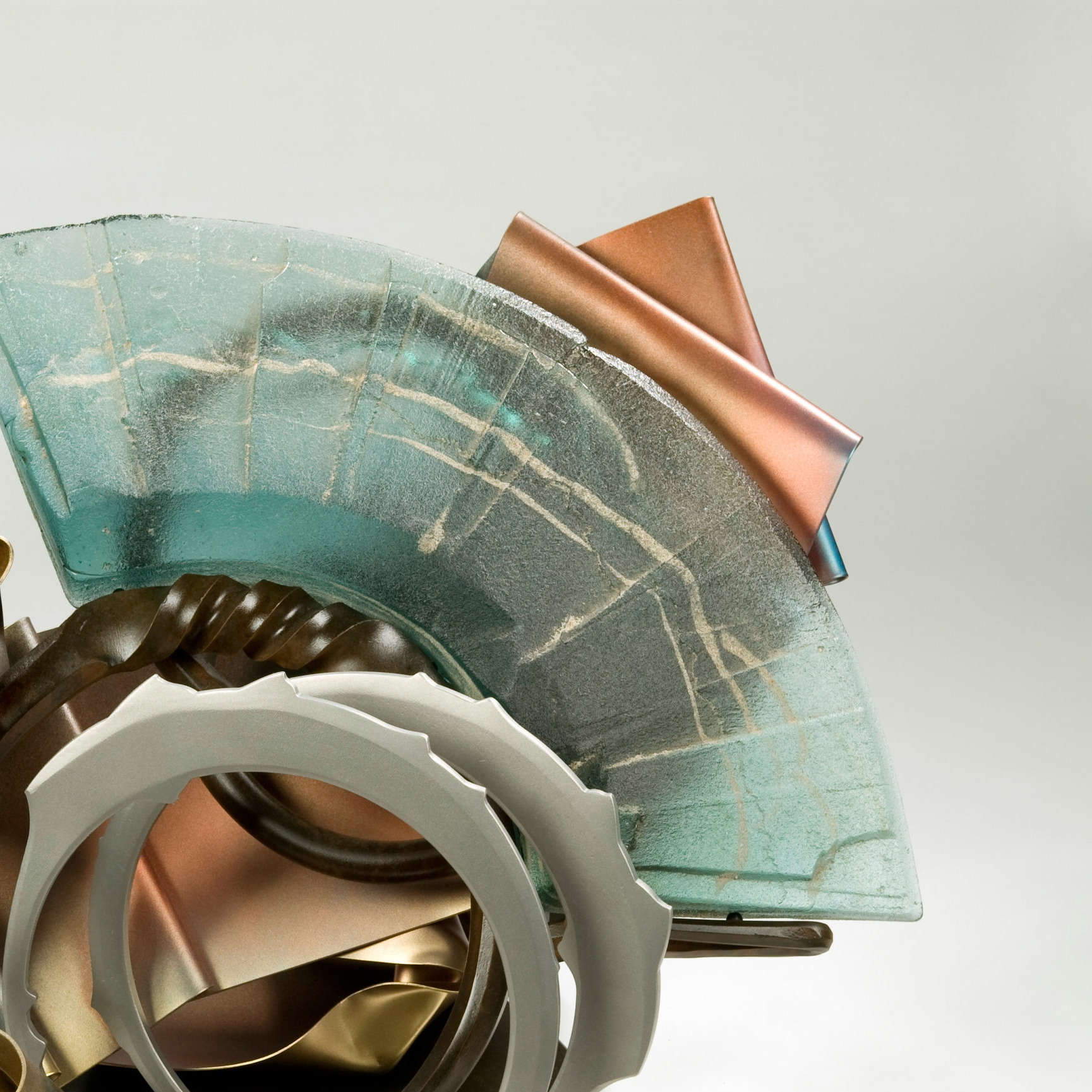 Complementary Contrasts: The Glass and Steel Sculptures of Albert Paley    September 9, 2017 - August 19, 2018