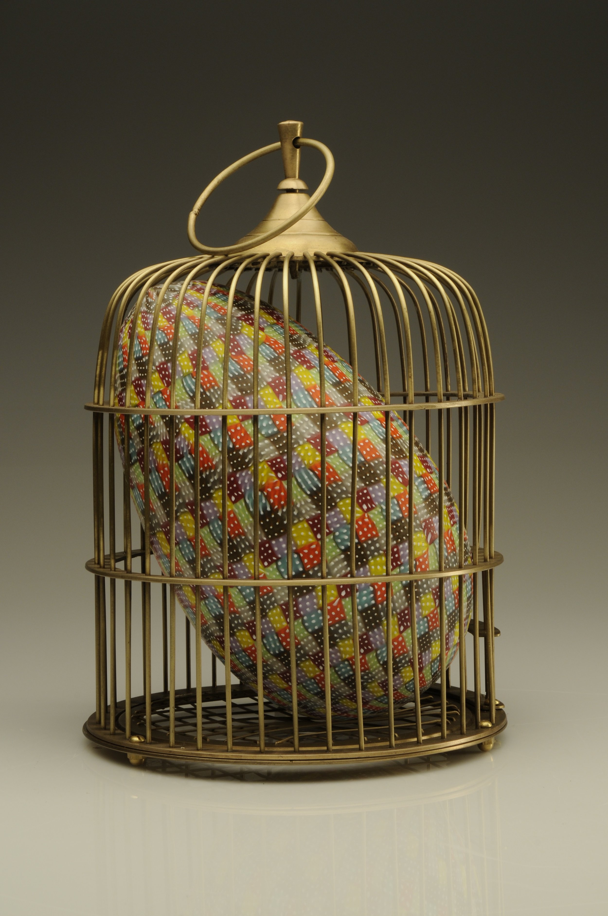 Egg in Cage
