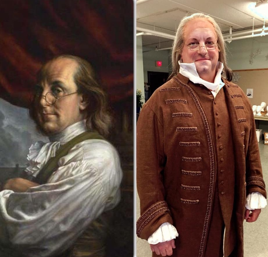 1776 AS BEN FRANKLIN AT THE COMPANY THEATRE