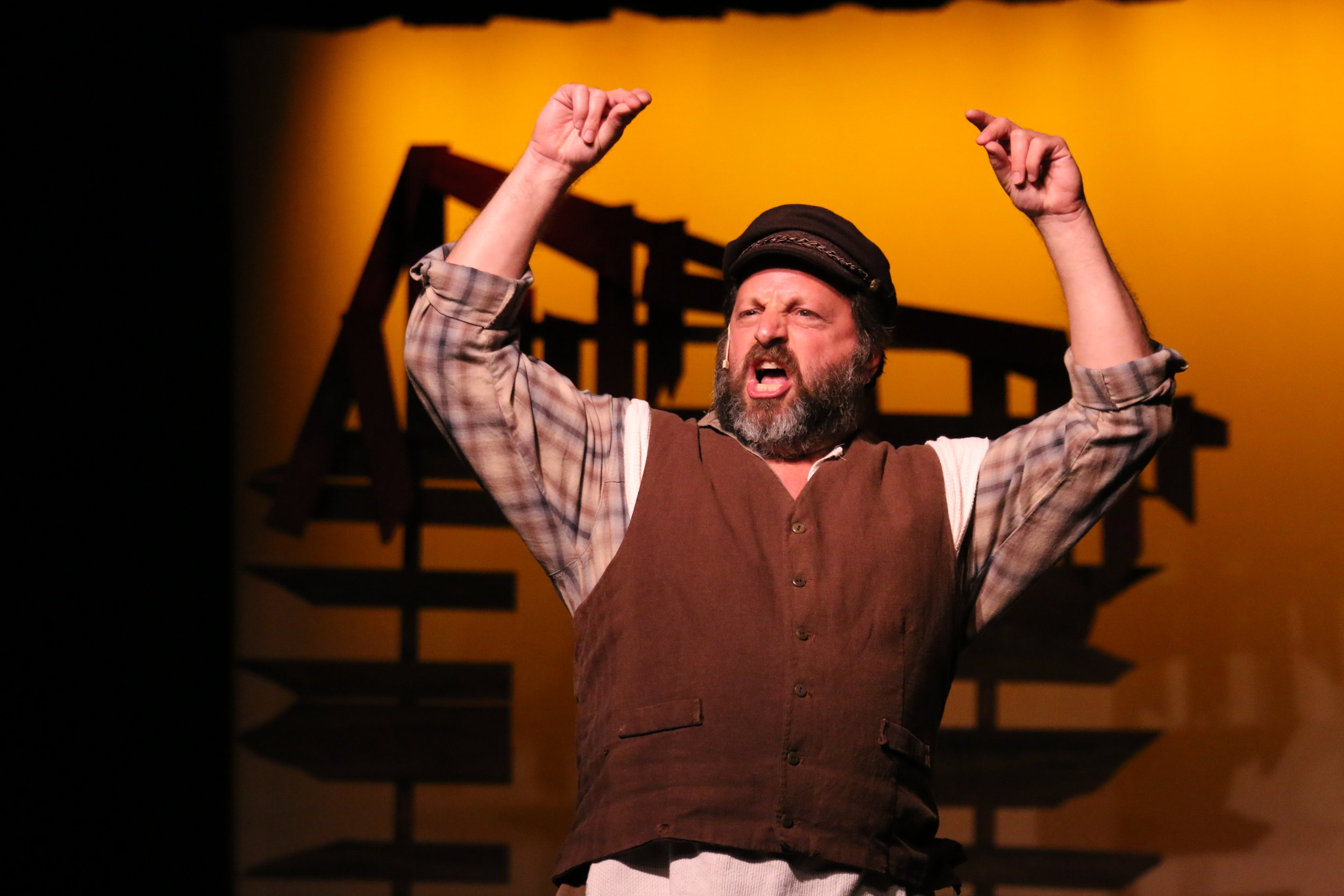 FIDDLER ON THE ROOF AS TEVYE AT STARSTRUCK THEATRE