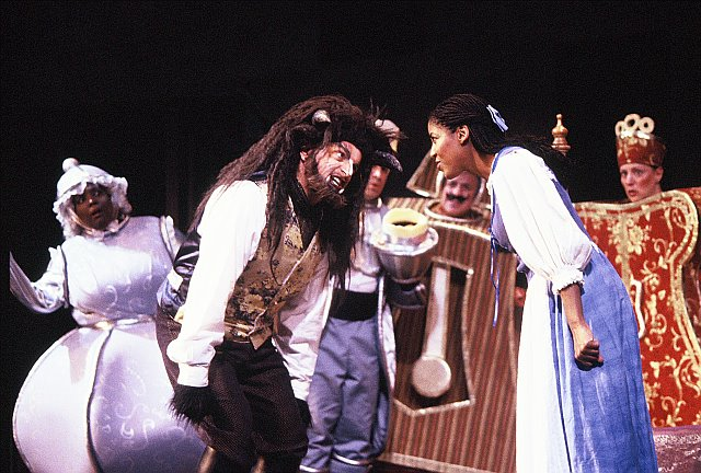 BEAUTY AND THE BEAST AS THE BEAST AT WHEELOCK FAMILY THEATRE