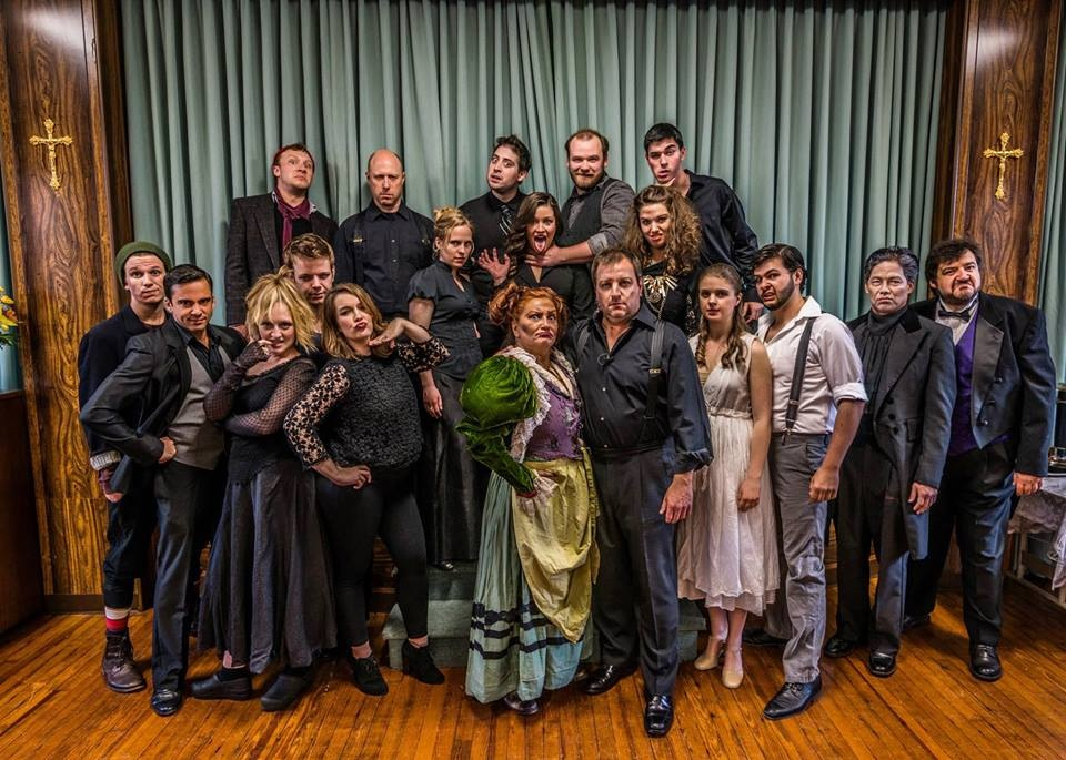 SWEENEY TODD IN SWEENEY TODD AT FOURTH AVENUE PRODUCTIONS