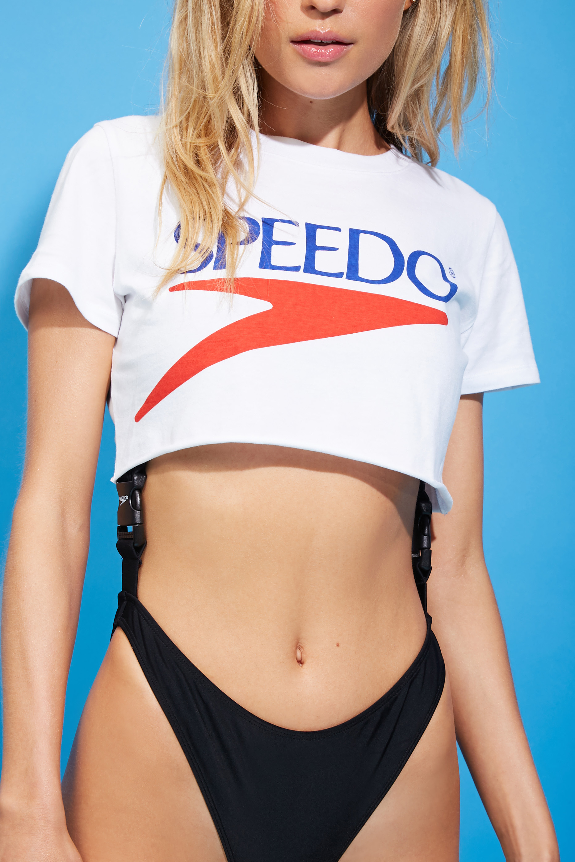 Speedo Graphic Cropped Tee - $17.90