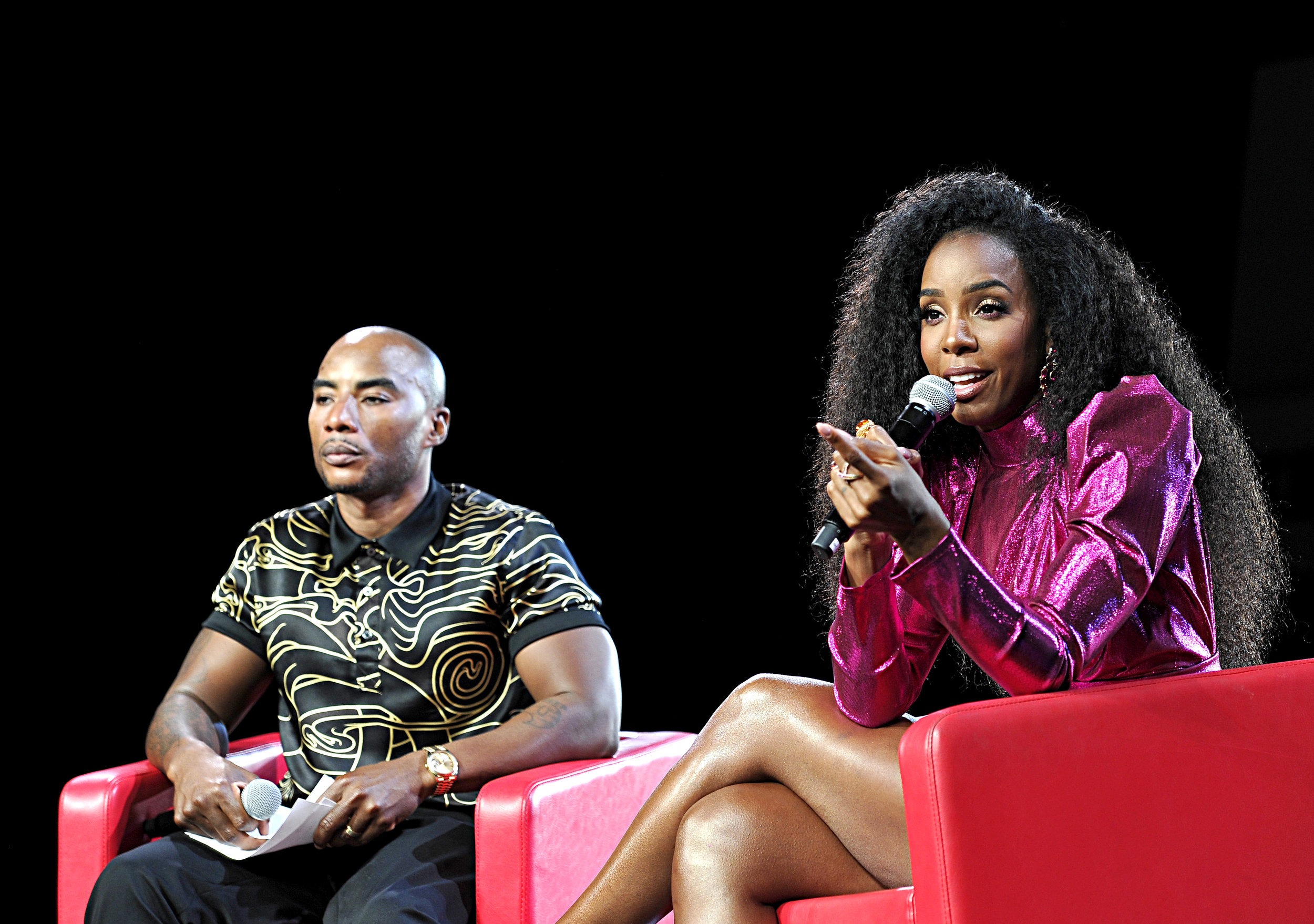 Charlamagne Tha God & Kelly Rowland PC: Beautycon
