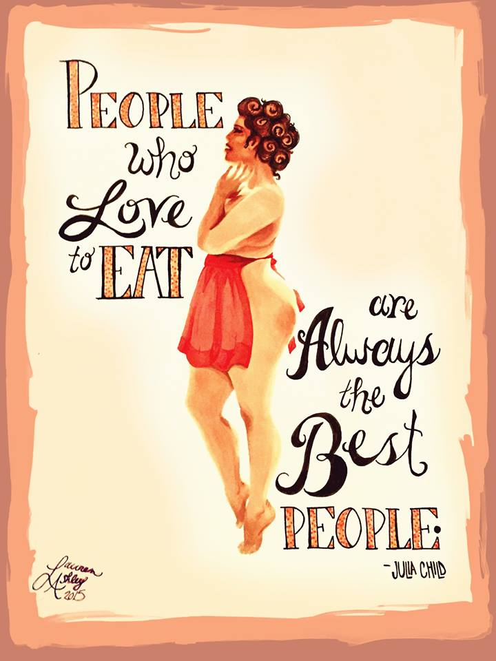 2017: People Who Love to Eat