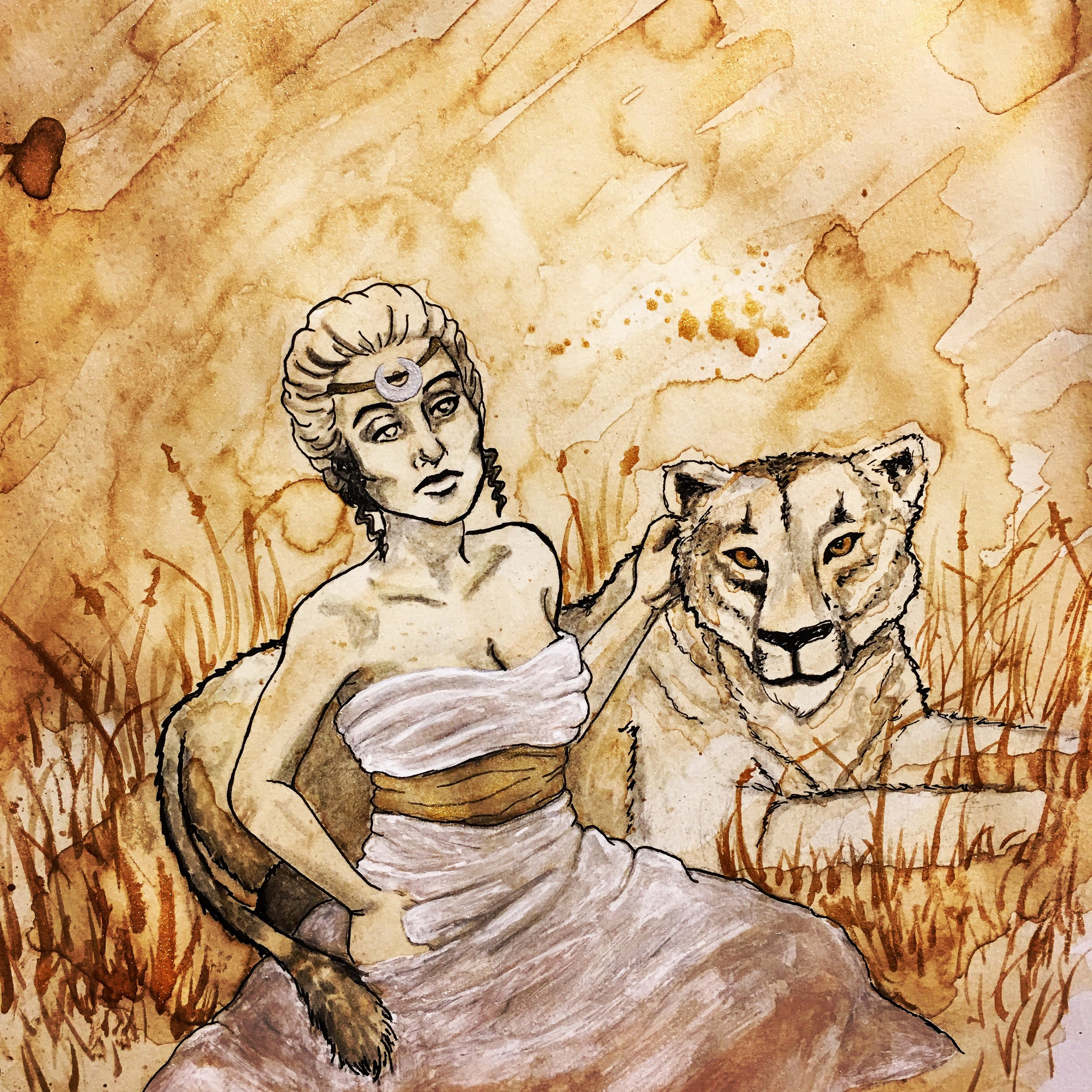 2018: The Lion & the Maiden