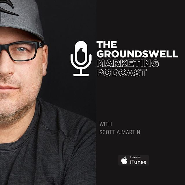"I have launched The #Marketing Podcast for #Entrepreneurs- 🎧 The Groundswell Marketing Podcast⚡️ Within 2 weeks it has been trending and featured ""New & Noteworthy"" @groundswell.marketing"