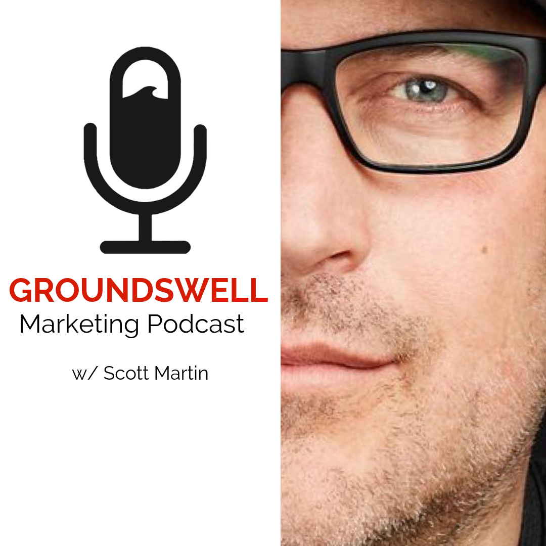 Episode 1 : Scott Martin Backstory - Introduction to Groundswell Marketing LISTENIn this introduction episode Ernest interviews Scott to share his background as a Marketing Entrepreneur and his reasons for launching Groundswell.  We cover off topics from Content Marketing, Growth Hacking, Marketing trends, and stories of his journey to build a new approach to marketing and the foundational concepts for his upcoming book called Groundswell- Sustainable Growth Marketing