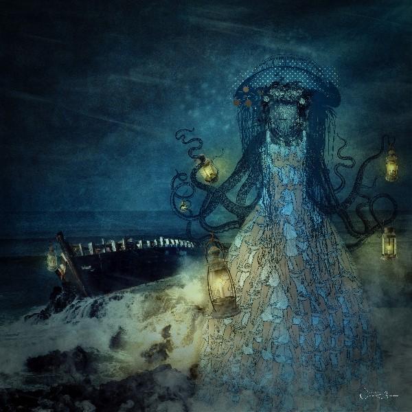 Cordelia Daughter Of The Sea, Bluebells Flower Dress