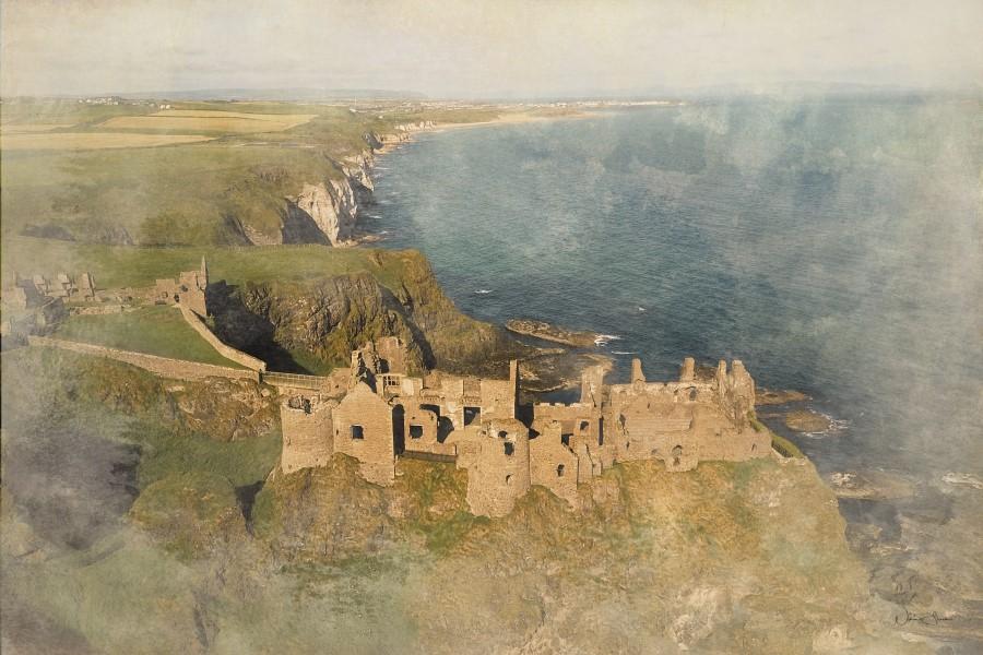 Dunluce Castle, Bushmills, County Antrim.