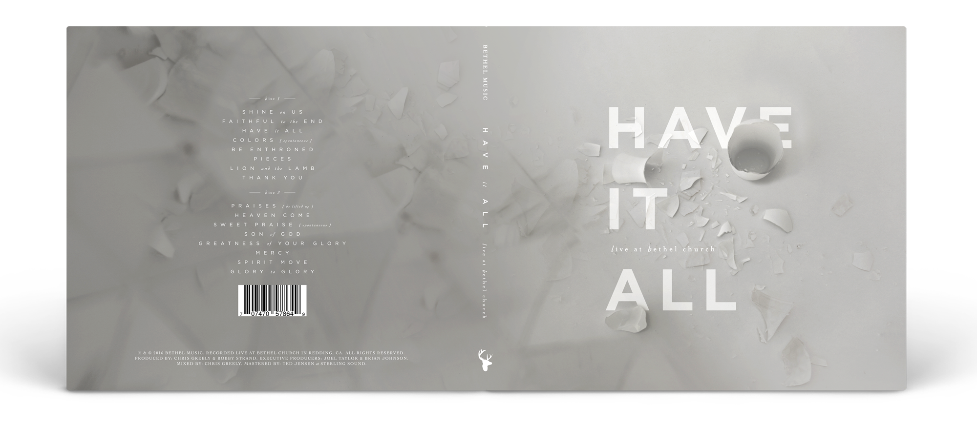 "Original ""Have It All"" album artwork concept"
