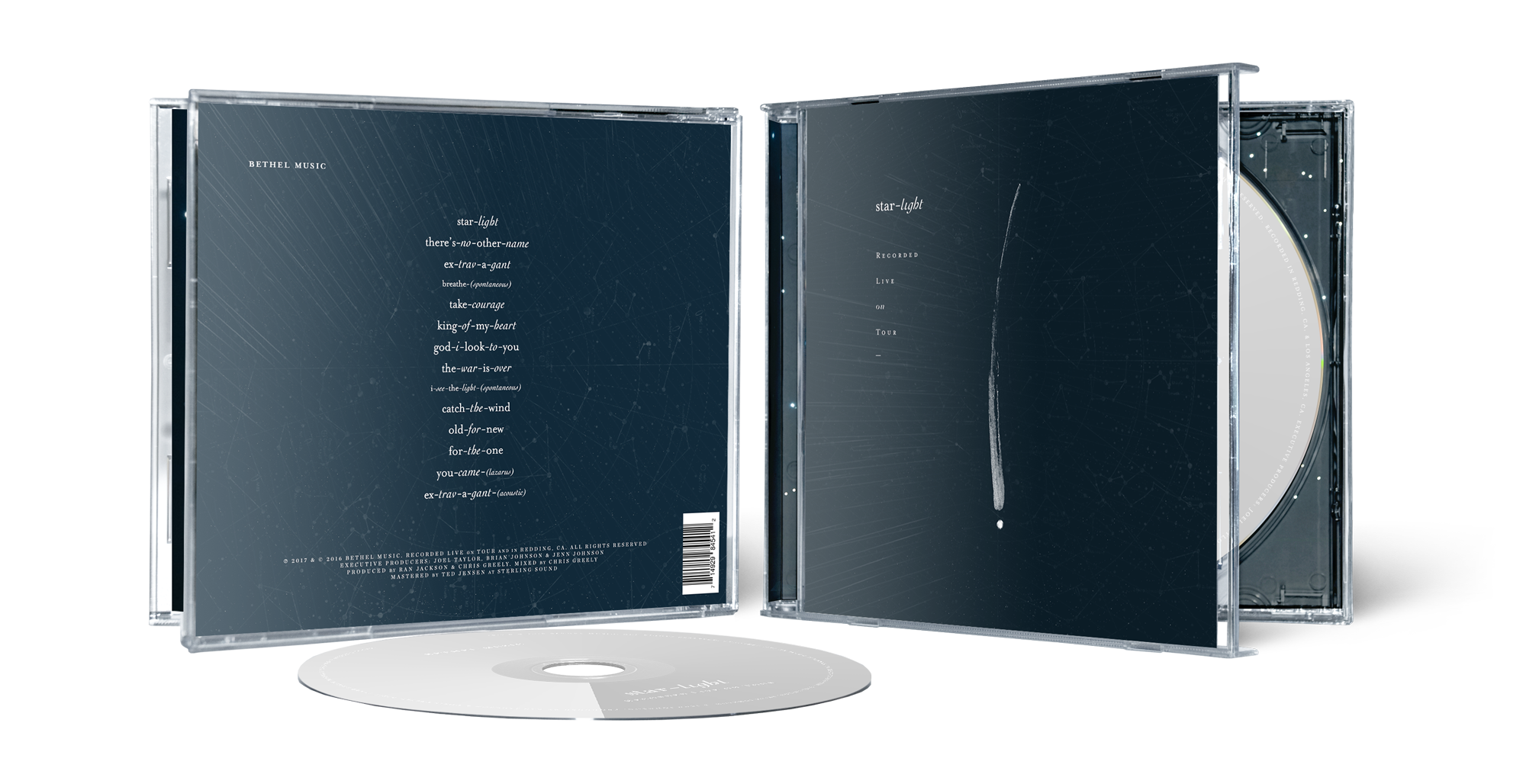 "The final packaging for ""Starlight"""