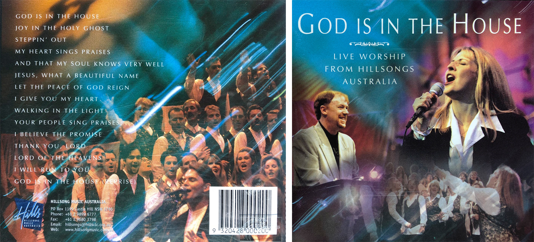 """God Is In The House"" broke new ground by featuring photos of worship leaders and the choir on the artwork (1996)."