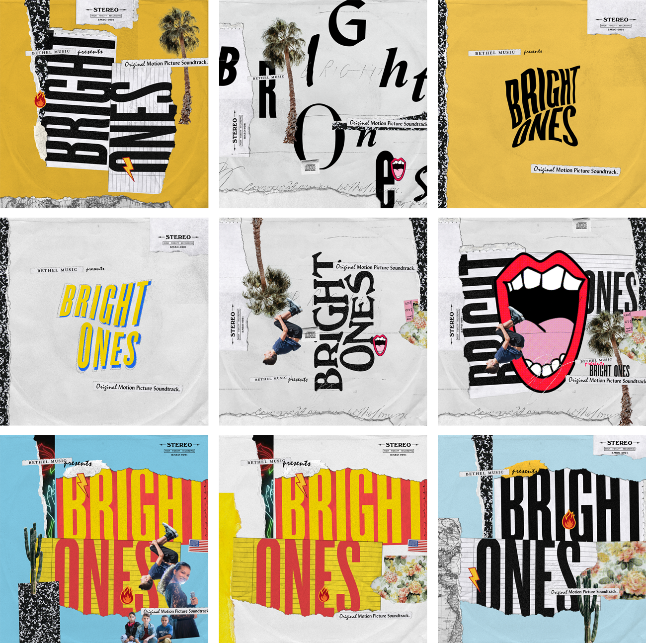 "Some of the concepts from my new art direction direction for ""Bright Ones""."