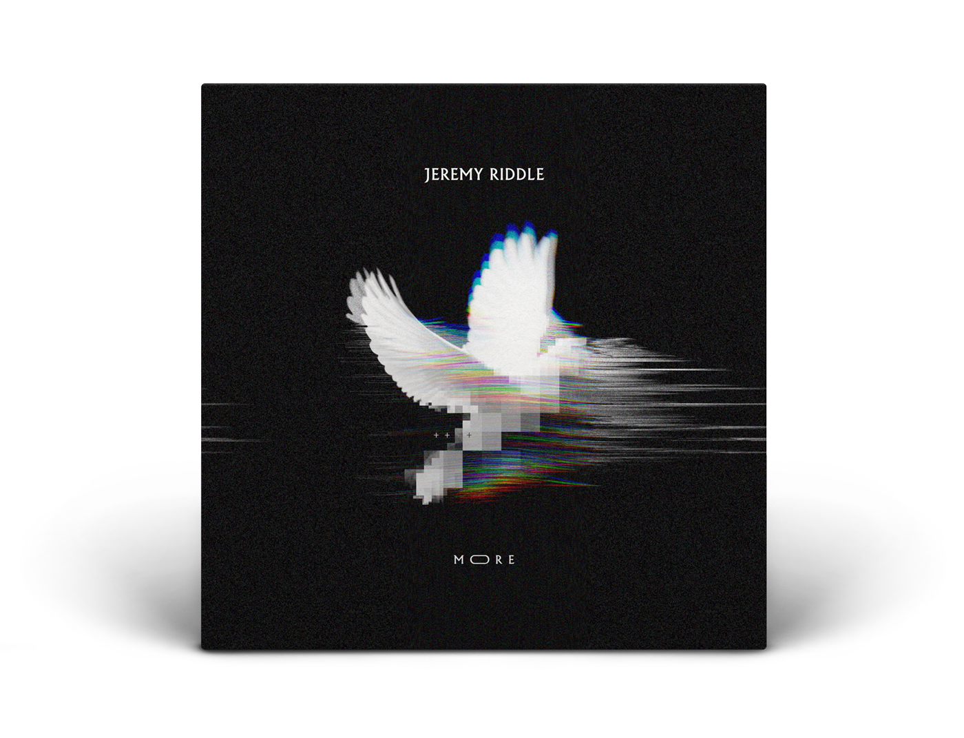 """The final album artwork for Jeremy's """"More""""."""