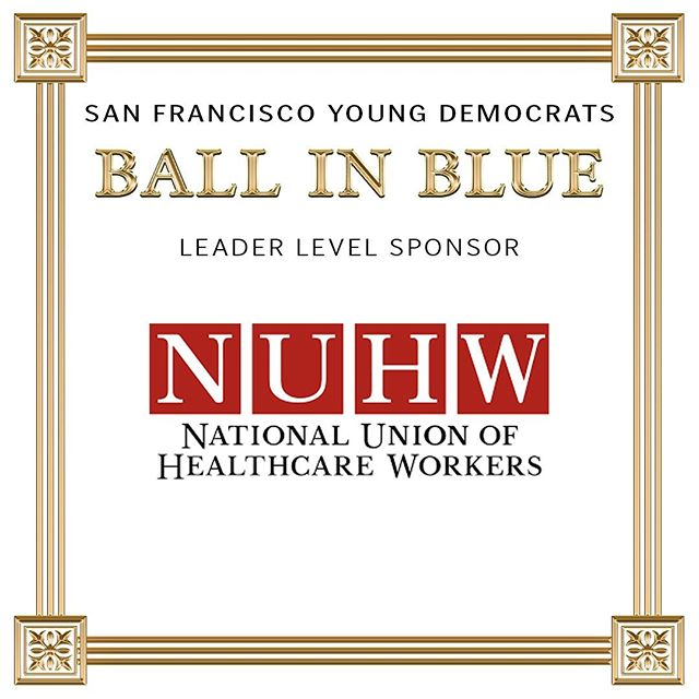 Thank you to Ball in Blue Leader Level Sponsor NUHW! Come enjoy an open bar for the first hour and grab some friends for our photo booth! Ticket link in the description! #nuhw_healthcare_workers #organize #sfbib2019