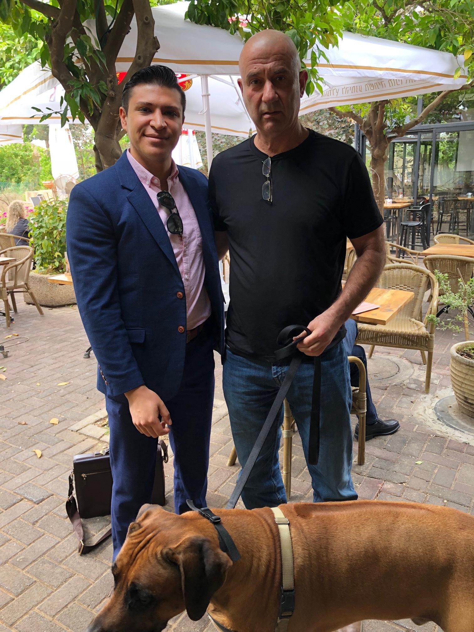 Avi Menkes, CEO of PetPace