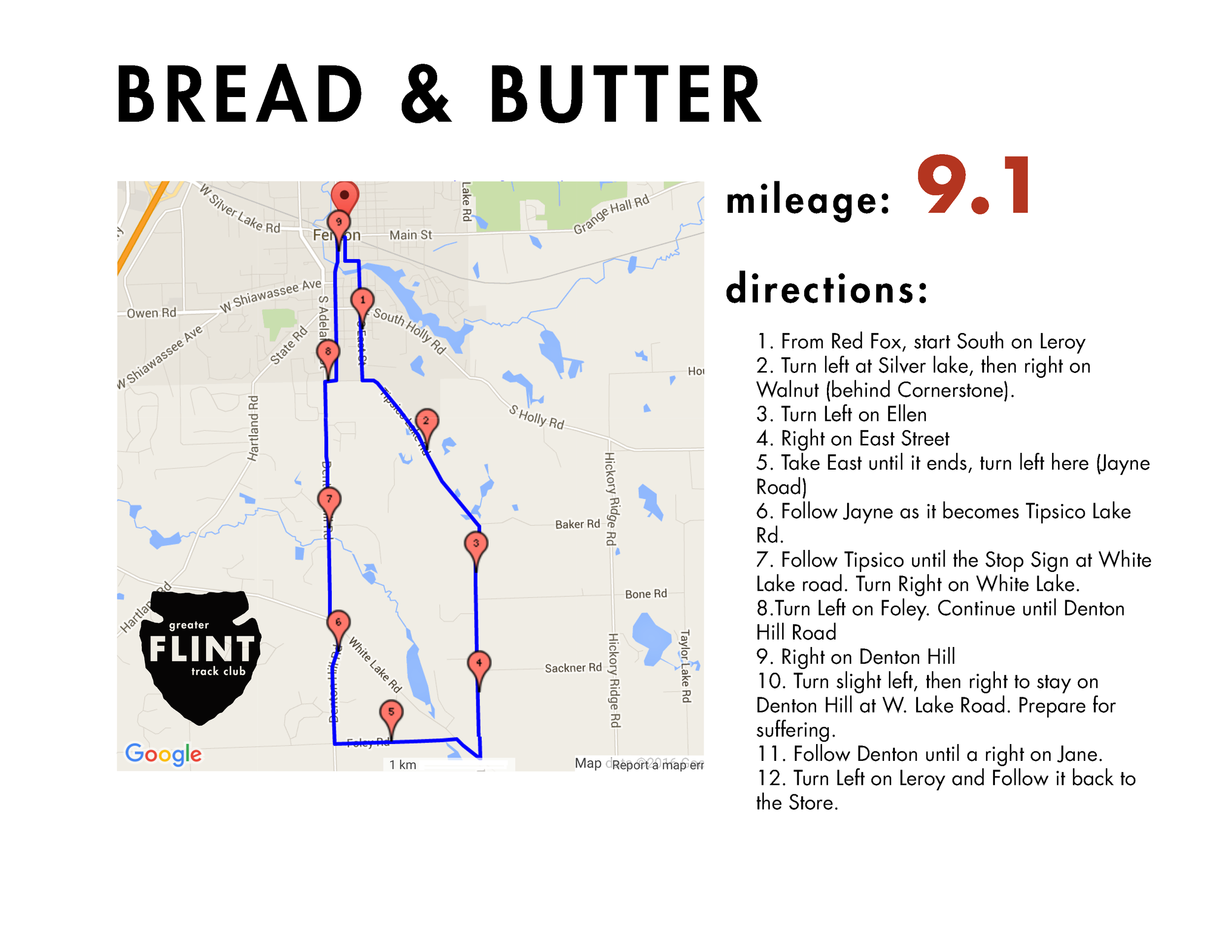 """Just as the name implies - this is a bread and butter route in any half-marathon, marathon, or high mileage program. professional runner noah droddy has been quoted as saying this was a """"nice"""" route when he was given a tour in advance of crim 2017. it has some rolling hills that are manageable, but build steel in the legs."""