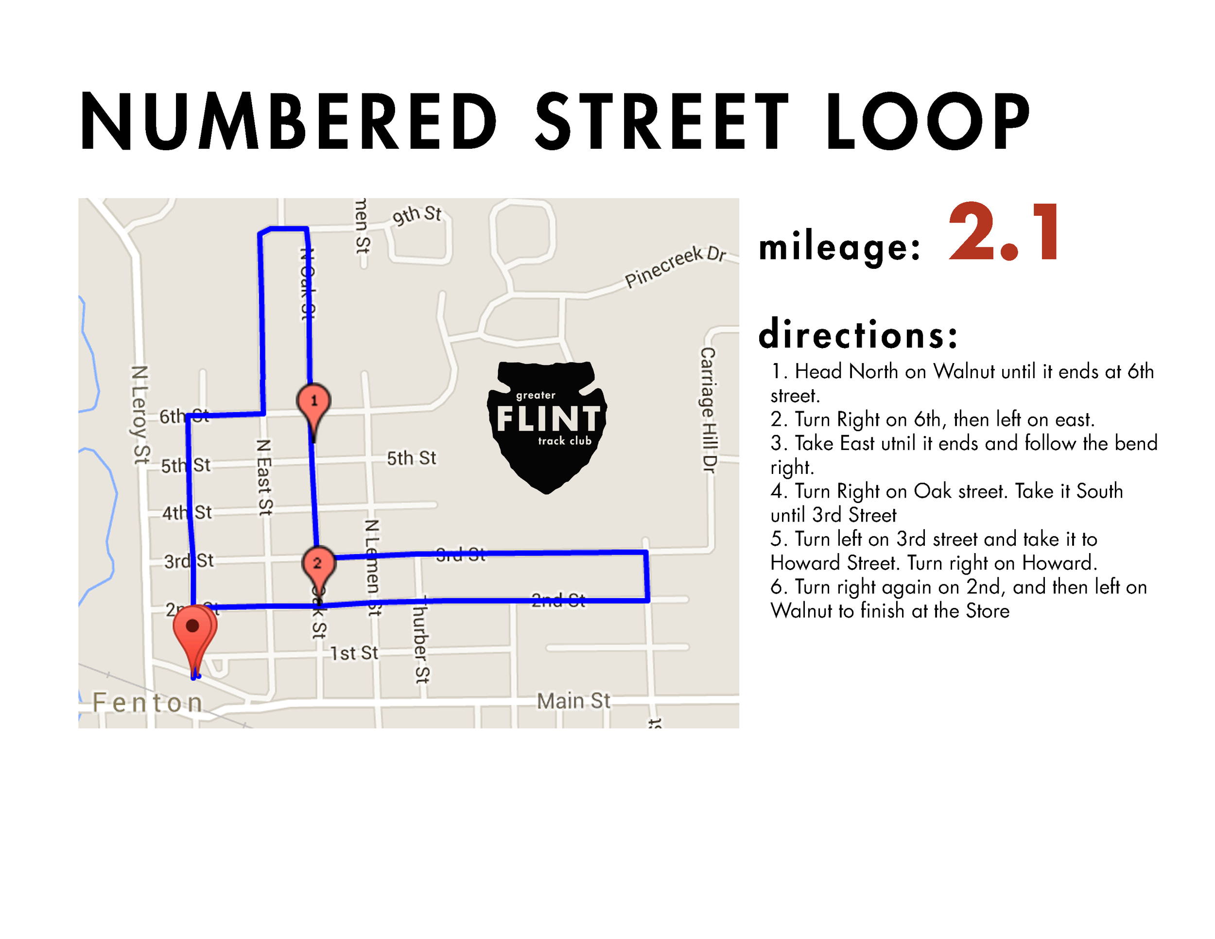 all pavement - good, short loop with easy ability to add or subtract distance, mostly follows right-away in a low-traffic residential area. there are potholes galore though (welcome to michigan), so watch your ankles.