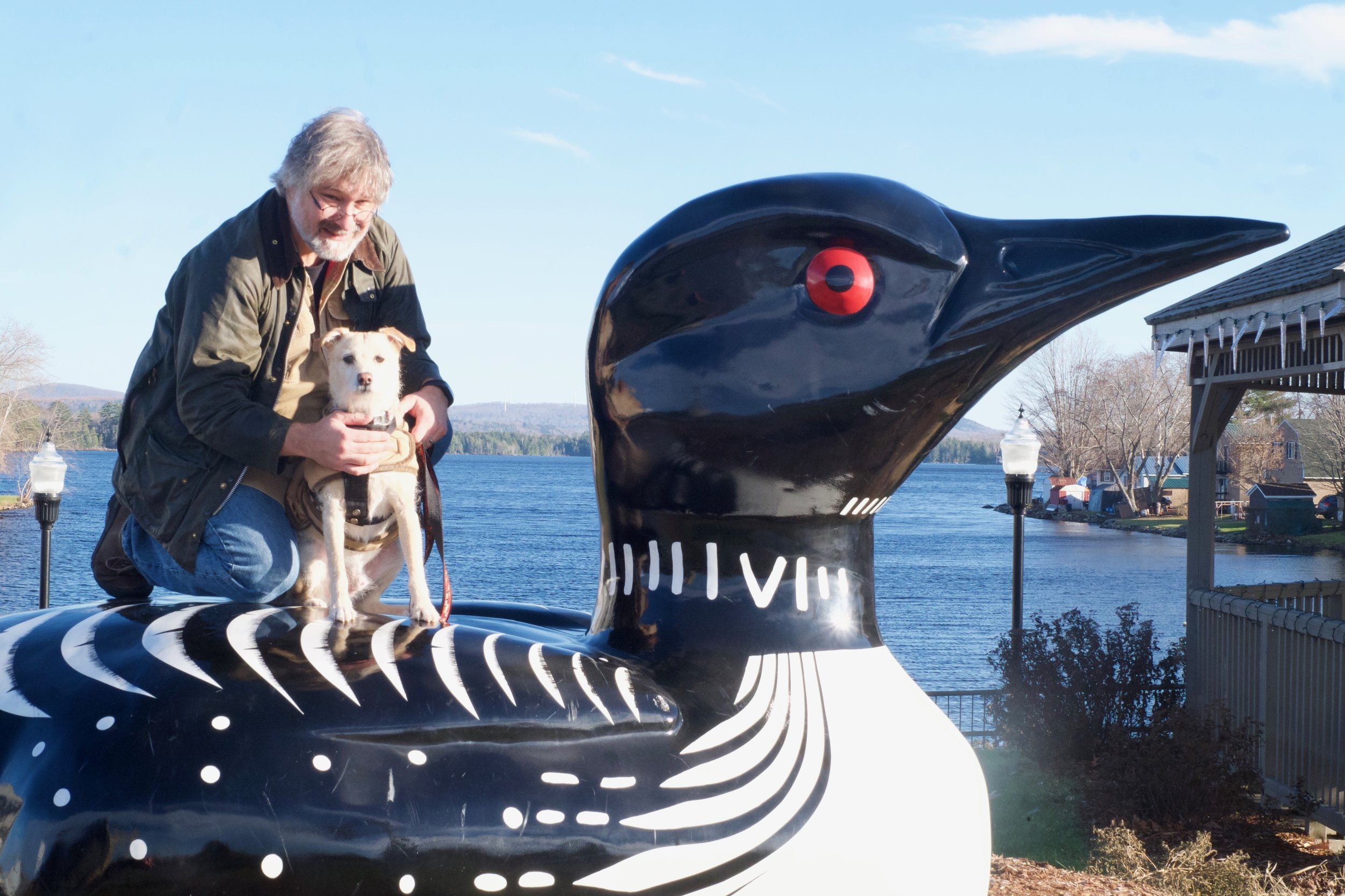 Ken, his good friend Gus, and the loons he hangs out with.