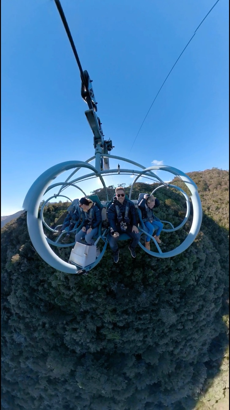 The Skywire experience