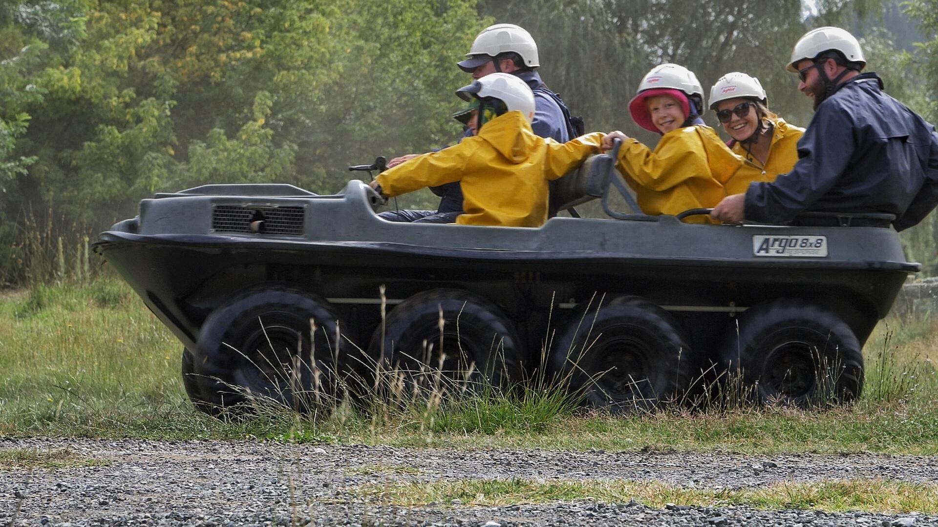 The Argo - wet and wild fun