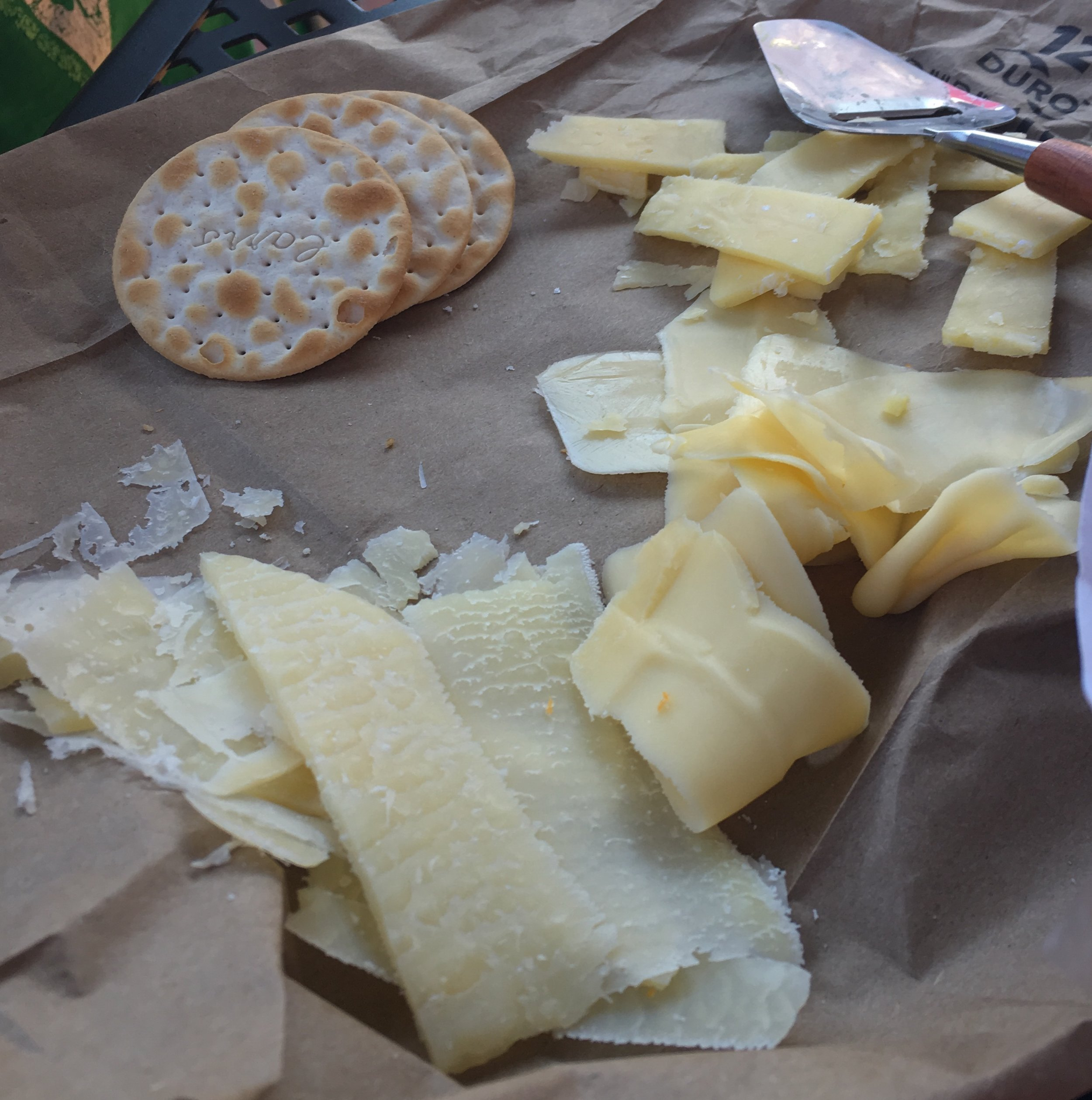 I stopped in to visit The Cheese Lady and did a little research for the two block menu-delicious!