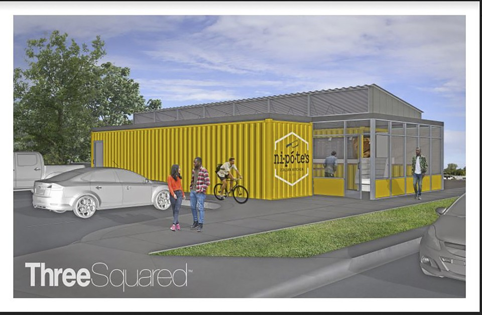 Here's the first rendering of the building.