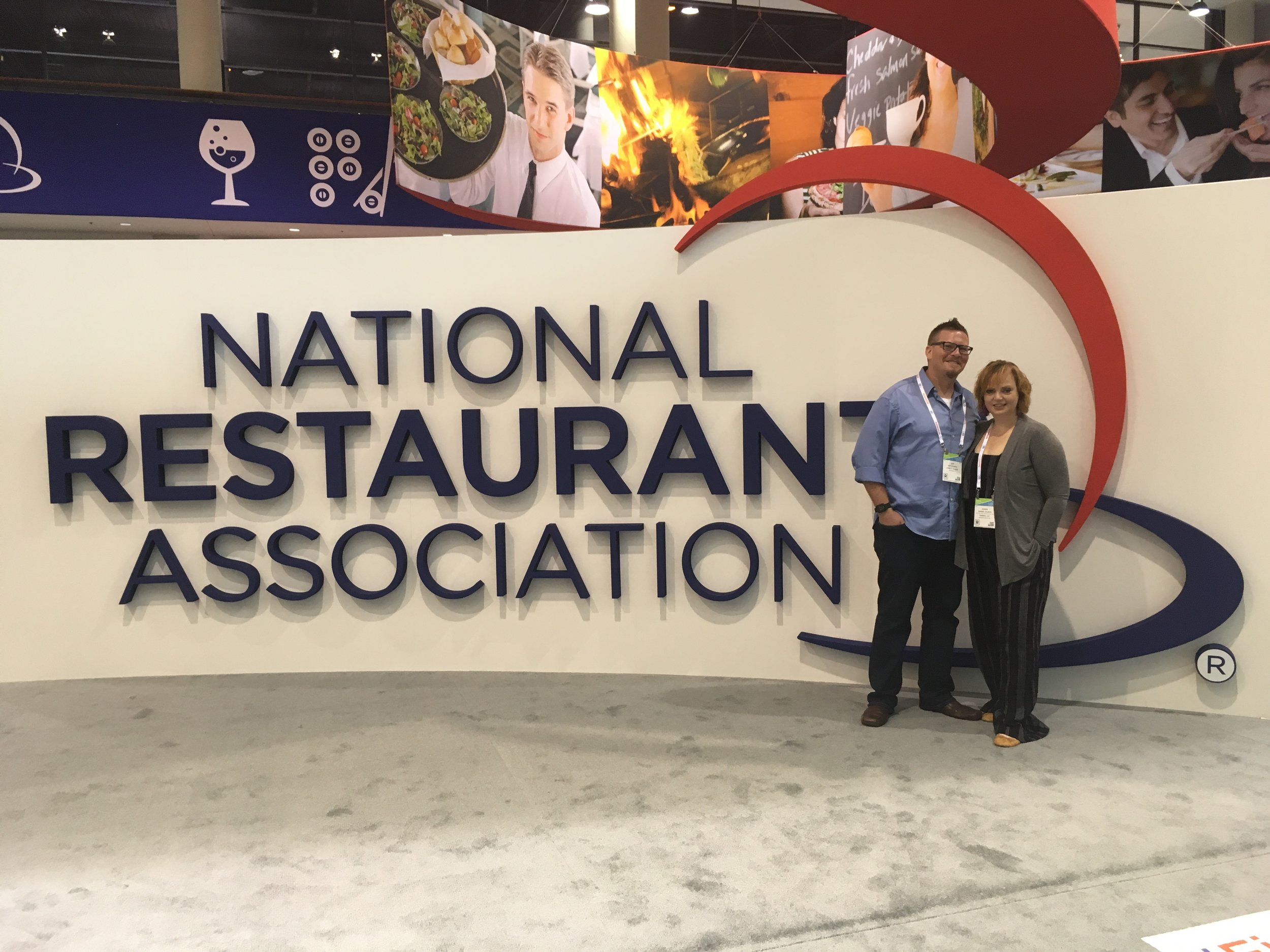 We had a blast at the NRA show in Chicago...scoping out products and of course food!