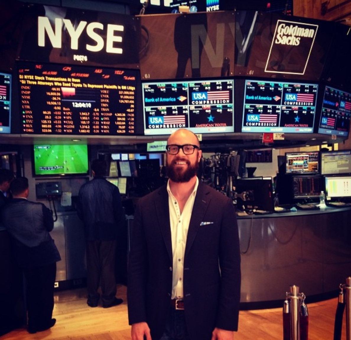 Apartment List visits the NYSE - June 2014 | Apartment List visits the New York Stock Exchange