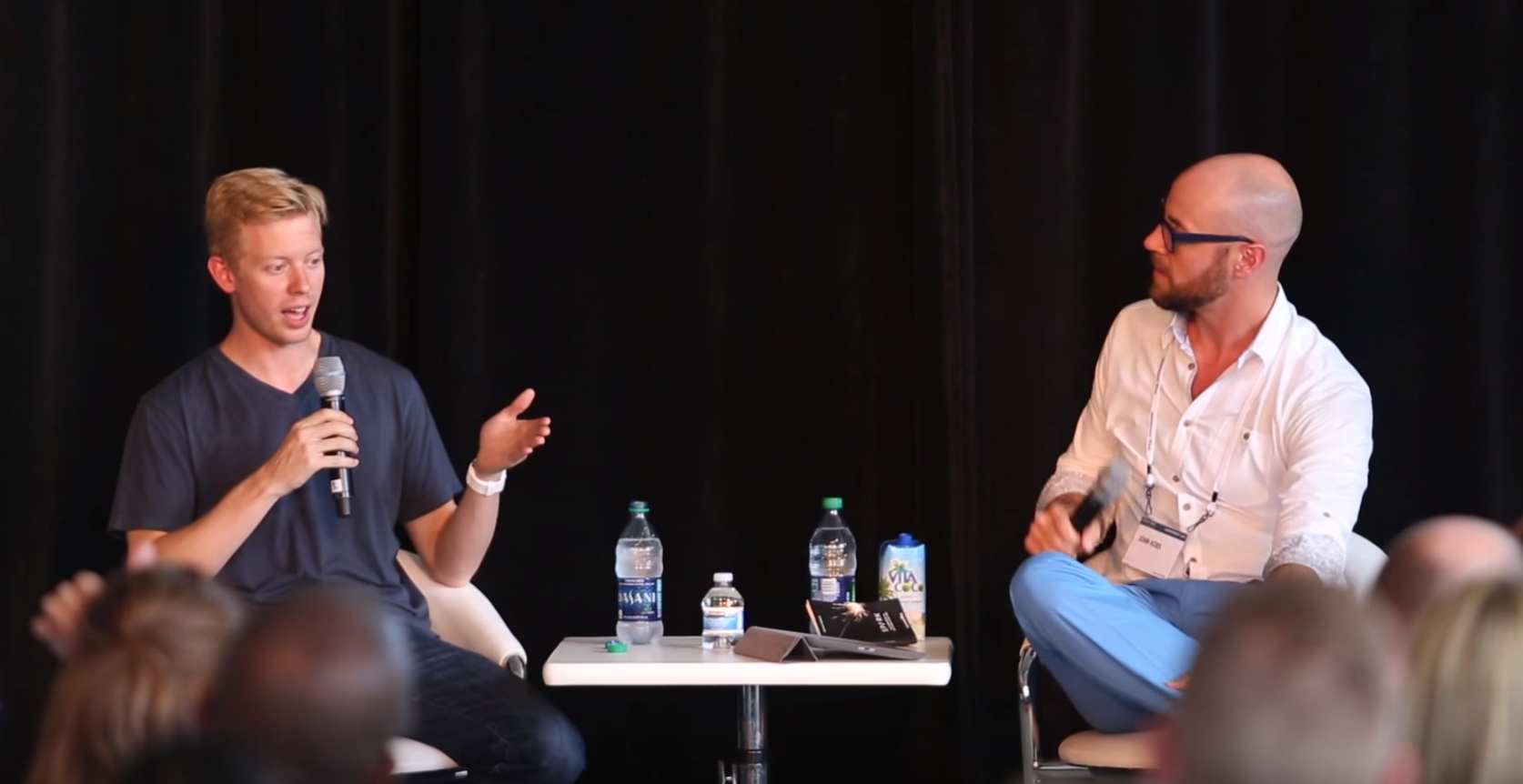 John interviews Steve Huffman, CEO of Reddit - September 2015   John sits down with Steve Huffman to talk about the founding story of RedditLINK