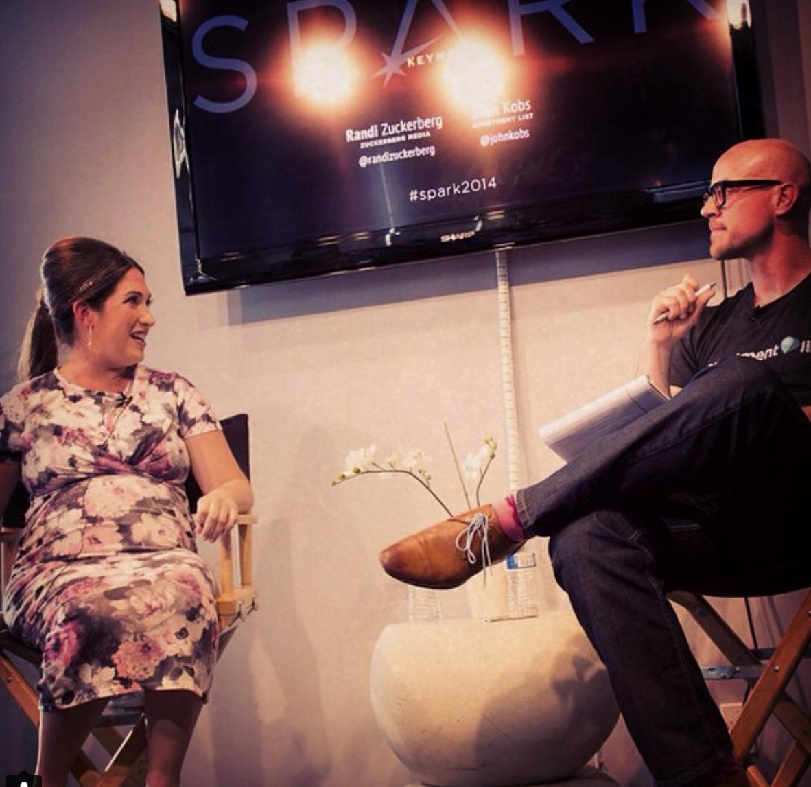 John interviews Randi Zuckerberg - September 2014   John sits down with Randi Zuckerberg to discuss her new media ventureLINK
