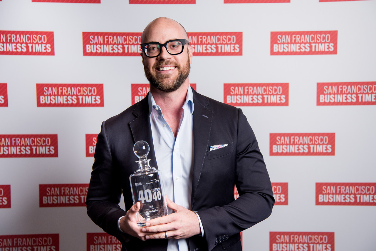 John named 40 under 40 by San Francisco Business Journal - LINKJanuary 2019 | For the past 8 years, The San Francisco Business Times' reporters and editors have selected 40 leaders under the age of 40 — from a pool of hundreds of nominations — who have made a name for themselves as innovators, creatives and leaders in business.