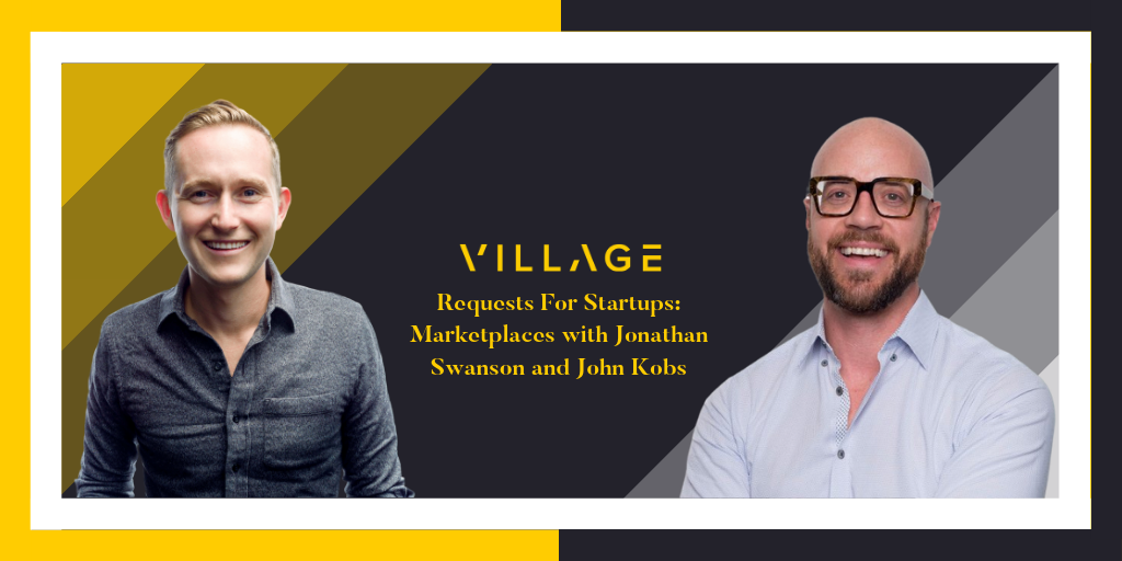 John interviewed by Erik Torenberg - March 2019 | John was interviewed alongside Jonathan Swanson, Co-founder of Thumbtack, by Erik Torenberg for Venture Stories Podcast on the topic of MarketplacesLINK