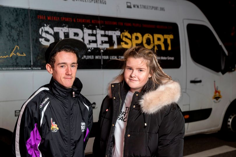 Denis Law's Legacy Trust, Streetsport, in Aberdeen. Image credits: Daily Record & Newsline Media Limited