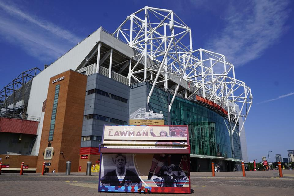 Old Trafford. Credit: Gordon Bell Pianos
