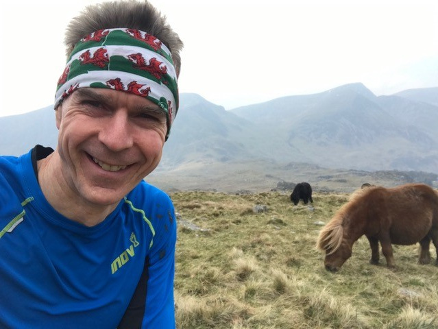 Taken in training at Tryfan, on the Paddy Buckley Round