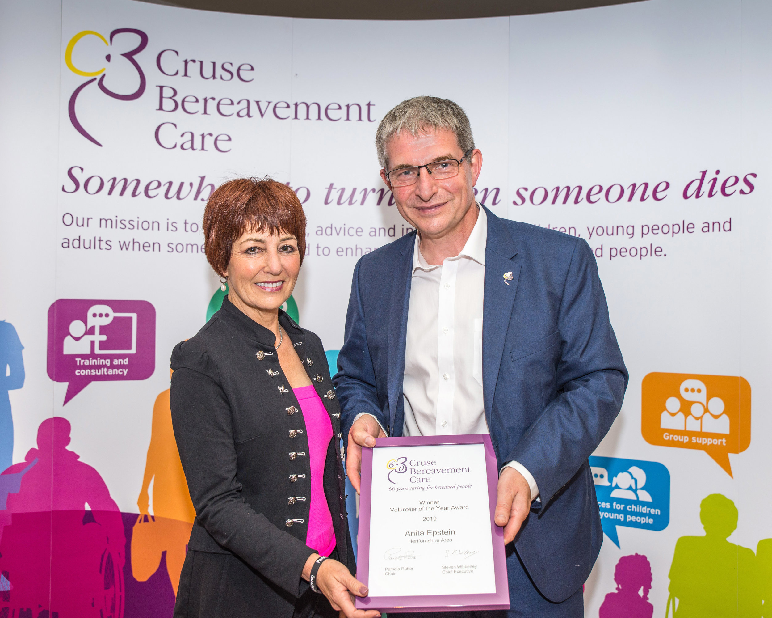 Cruse Bereavement Care 60th Anniversary Gala Dinner - Awards