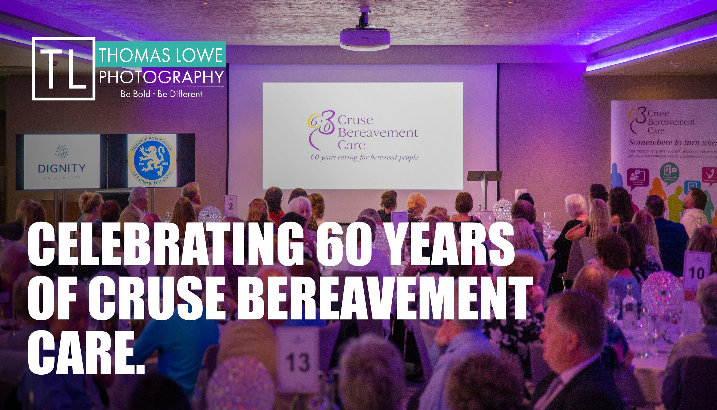 60 Years of Cruse: Birmingham Conference Event Photography