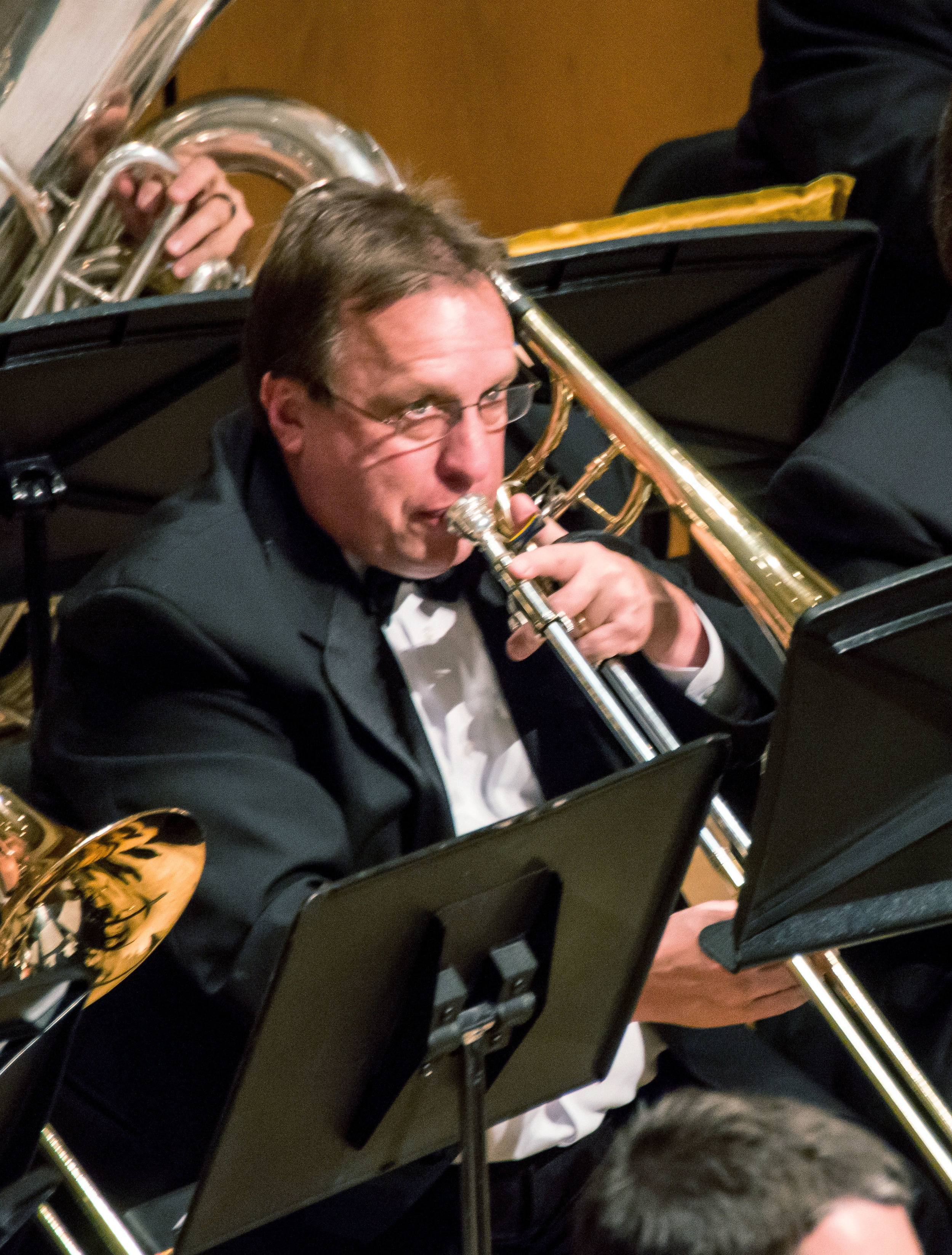 - The Ernst W. Kettnich Award, given in recognition of a lifetime of leadership and distinguished service on behalf of the Northshore Concert Band, was presented to Paul Bauer, trombone.