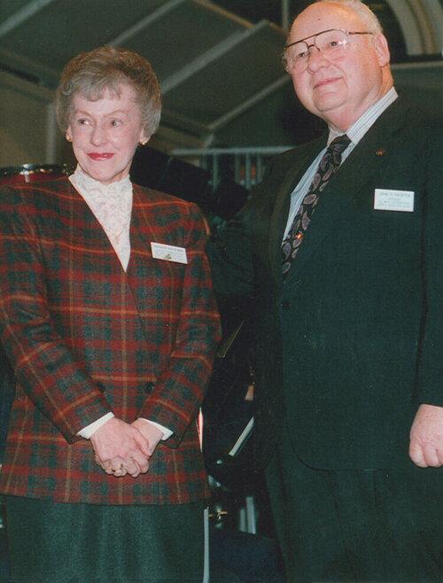 Barbara Buehlman and John Paynter