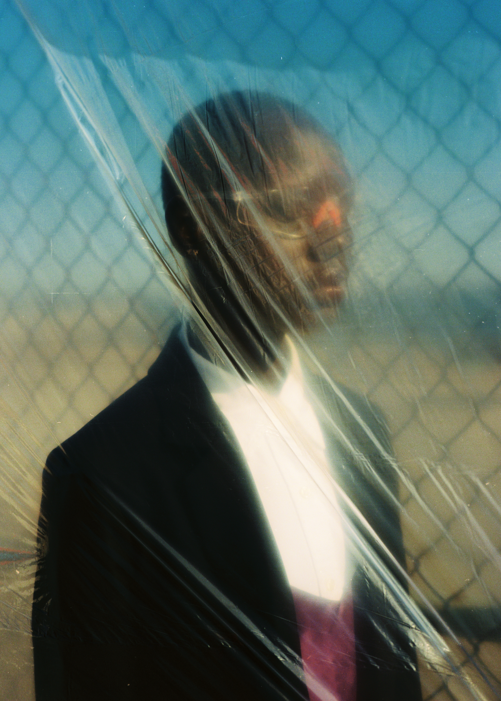 """light is calling"" - ajak deng photographed by emon toufanian for phosphenes #5"