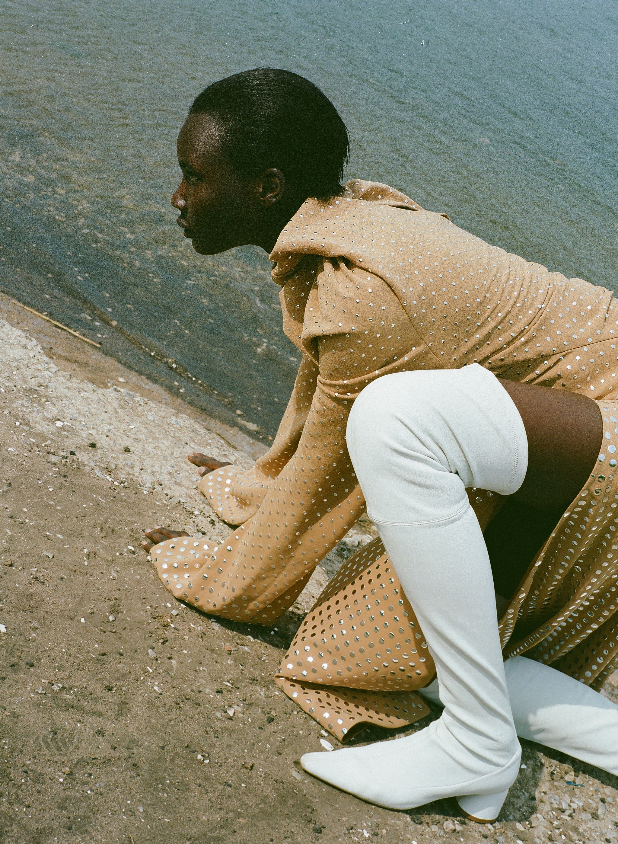 """high summer"" - tricia akello photographed by angela baltra for v magazine"
