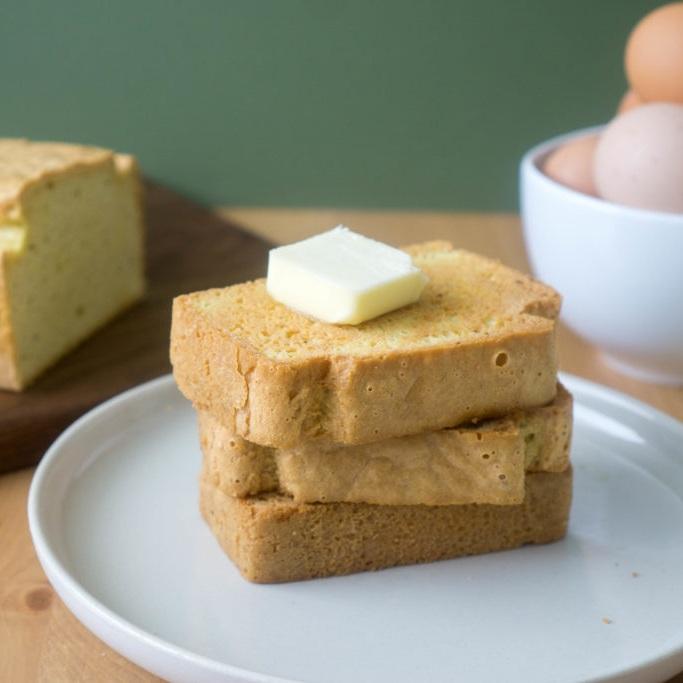 keto bread slice