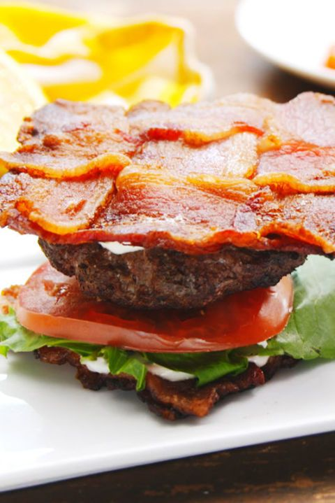 Keto BLT Burger