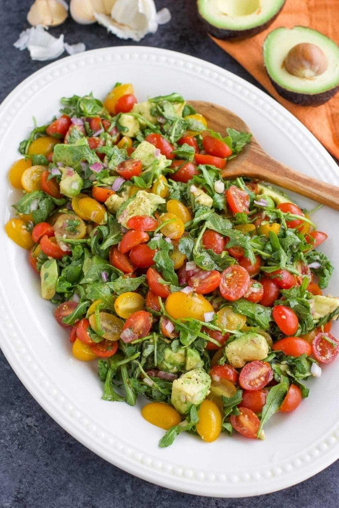 Keto Arugula Salad