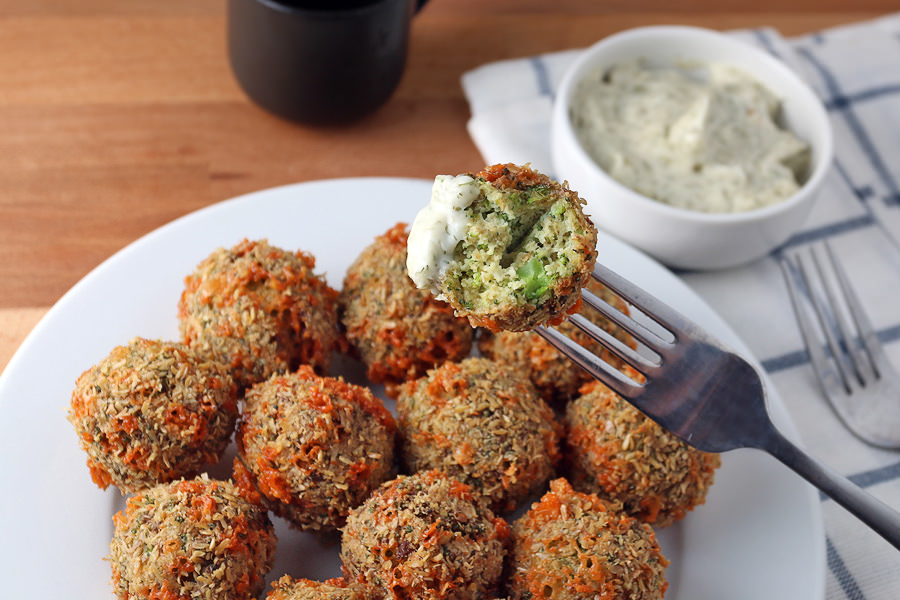 Keto Broccoli Cheese Fritters