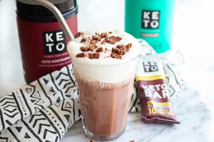 brain boosting chocolate keto smoothie recipe